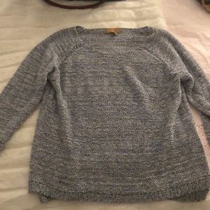 Zara blue knit sweater